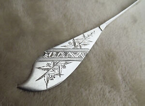 "Spider Web by Issac Dixon 7 1/4"" all Sterling master butter knife mono Rare"