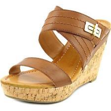 Sandalias y chanclas de mujer marrón Tommy Hilfiger