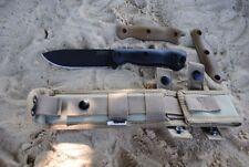 BKR16 Couteau Kabar Becker Short Drop Point 1095 Carbon Blade Made In USA
