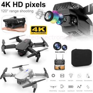 2021 E88 Professional WiFi HD 4K FPV Wide Angle Dual Camera RC Quadcopter Drone