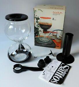 BODUM SANTOS 1 OVP / frühe Generation - Vakuum Kaffebereiter Kaffeemaschine NEU
