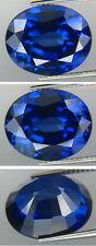 SOMPTUEUX SAPHIR VERNEUIL  CORNFLOWER BLUE  8x10  mm..IF
