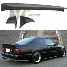 Mercedes-Benz W124 AMG Style Boot Tail Trunk Spoiler Wing Ducktail Lip Coupe