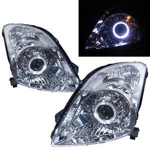 Swift MK2 04-10 Guide LED Angle-Eye Projector Headlight Chrome for SUZUKI RHD