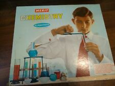 Vintage Merit Chemistry Set By J&L Randall 1962 Made In England