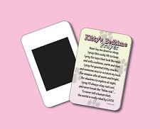 Kitty'S Bedtime Prayer - Humorous Cat Poem - Funny Fridge Magnet - Sku# 845