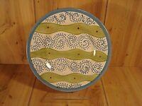 "POTTERY BARN CHINA 8 3/8"" Allegra Salad Plate Swirls"