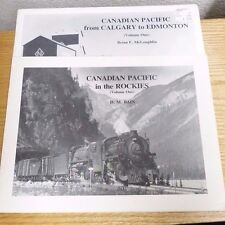 VTG 2PC 1980S CANADIAN PACIFIC- IN THE ROCKIES V1 &CALGARY TO EDMONTON V1   #48