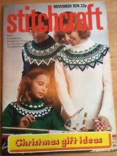 Stitchcraft Magazine, November 1974 (845)