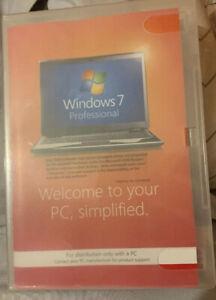 Microsoft FQC-04649 Windows 7 Professional 64 Bit Sp1 System Builder