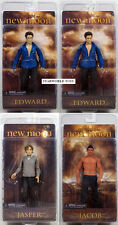 Twilight New Moon series 2 SET OF 4 EDWARD JACOB JASPER EDWARD SPARKLE FIGURE