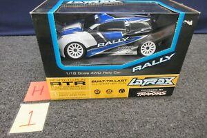 Traxxas LaTrax 1/18 Scale Rally Car 4WD Blue RTR 75054-1 2.4 Ghz R/c Racing NEW