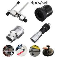 4PCS Mountain Bicycle Repair Tool Bike Crank Wheel Puller Pedal Remover Tools
