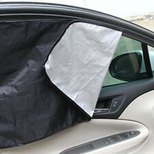 1 Pair Magnetic Sunshade Shield Curtains Double Sides for Car Oblique Window