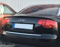 RS4 Look spoiler For Audi A4 B7 05-08 Saloon Sedan  rear RS S Trunk Lip S4 heck