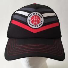 Golden Gate Triathalon Club Black Snapback Cap Hat