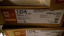 HOME LINE  HOM816L125TC 125A 8 Space 16 Circuit Square D