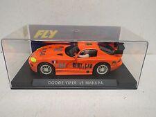 FLY REF-A3 DODGE VIPER LE MANS 94 Naranja RN40 Nuovo Nuovo di zecca in scatola (WM199)
