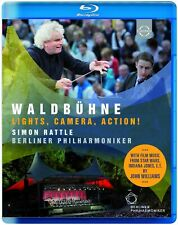 WALDBÜHNE BERLIN-LIGHTS,CAMERA,ACTION!  BLU-RAY NEW KORNGOLD/ROSZA/WILLIAMS/+
