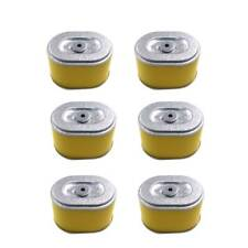 6 pcs Air Filter Cleaner Element Fits 5.5HP & 6.5HP Honda GX160 & GX200