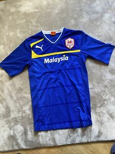 Puma Cardiff City Football Club Football Shirt Size Small
