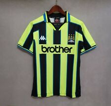 Retro Adult Custom Jersey 1998-99 Manchester City Away Football Shirt