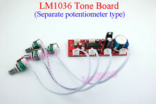 New LM1036 Tone Board Separate Potentiometer Treble Bass Balance Volume Control