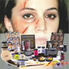 Professional Trauma Injuries Zombie Make up Kit Set for Movie Halloween Party