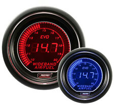 PROSPORT 52mm EVO Series Red Blue Led WIDEBAND Air Fuel Ratio Gauge