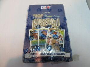 1992 O-PEE-CHEE Premier Baseball Card Boxed 36 Packs New Factory Sealed