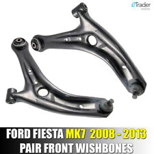 FORD FIESTA MK7 2008-2013 FRONT LOWER SUSPENSION WISHBONES ARMS PAIR WISHBONE