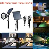 Solarlampe Solar LED Spotlight Licht  Spike Lampe Garten Lampe Solar Spotlight