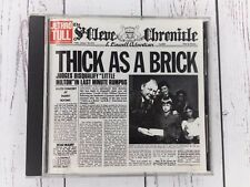 Jethro Tull Thick As A Brick CD 1985 Very Good