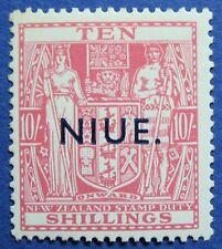 1942 NIUE 10S SCOTT# 88 S.G.# 81 UNUSED  CS02166