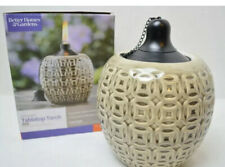 Better Homes & Gardens Ceramic Flame Outdoor Decorative Tabletop Torch BRAND NEW
