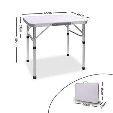 NEW Card Table 4 Seater Camping Foldable Table Aluminium Rust Resistant Top Fold