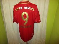 "FC Bayern München Adidas Heim Trikot 2011/12 ""-T---"" + Nr.9 Lewandowski Gr.L TOP"