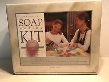 Glycerine Soap Making Kit Pure Pleasure Hypo Allergenic Aloe Vera & Vitamin E