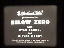 Laurel & Hardy BELOW ZERO 16mm Blackhawk print VG condition no VS
