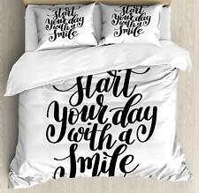 Modern Design Duvet Cover Set Twin Queen King Sizes with Pillow Shams Bedding