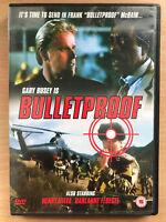 Bulletproof DVD 1988 Cult Azione Film W / Gary Busey E Henry Silva