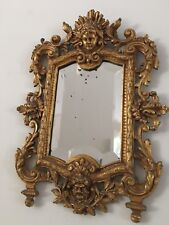 Antique Majestic Traditional Bronze Beveled Wall Mirror