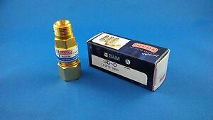 Genuine IBEDA Oxygen Flashback arrestor - Torch end - Made in Germany
