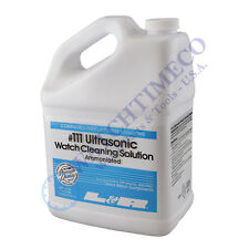 L&R #111 Ultrasonic Watch Cleaning Solution 1 Gallon