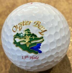 Oyster Bay Golf Links 13th Hole Logo Golf Ball NEW Slazenger