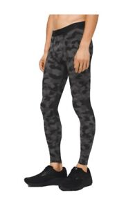 "Lululemon SURGE TIGHT 28"" *NULUX Heritage 365 Camo Black Multi Size L"