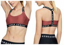 Under Armour Sports Bra Wordmark Womens Pink