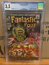 Fantastic Four 49 CGC 3.5 1st Full Appearance of Galactus  and 2nd Silver Surfer