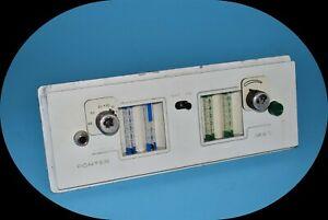 Porter 2055 Dental Conscious Sedation Nitrous Oxide No2 MXR-1 Flowmeter