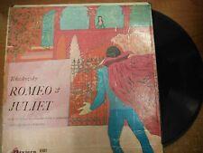 33 RPM Vinyl Tchaikovsky Romeo & Juliet Riviera Records LP 032615SM
